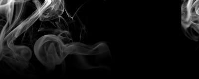Spridd bakgrund för rök på vit royaltyfri fotografi
