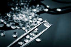 Spridd diamant royaltyfria bilder