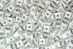 Spridd valuta royaltyfri bild