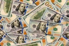 Spridda pengar Arkivbild