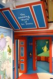Spriengfield massachusetts usa dr seuss museum. The Amazing World of Dr .Seuss Museum is one of the great attraction for visitors of Springfield , Massachusetts royalty free stock photography