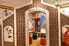 Spriengfield massachusetts usa dr seuss museum. The Amazing World of Dr .Seuss Museum is one of the great attraction for visitors of Springfield , Massachusetts stock images