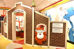 Spriengfield massachusetts usa dr seuss museum. The Amazing World of Dr .Seuss Museum is one of the great attraction for visitors of Springfield , Massachusetts stock photography