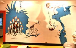 Spriengfield massachusetts usa dr seuss museum. The Amazing World of Dr .Seuss Museum is one of the great attraction for visitors of Springfield , Massachusetts stock image