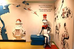 Spriengfield massachusetts usa dr seuss museum royalty free stock images