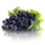 Sprig of grapes, triangle design vector Royalty Free Stock Photography