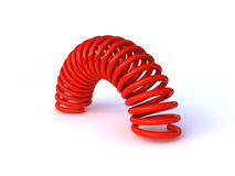 coiled spring Royalty Free Stock Images