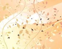 Spring. Illustration of floral design background Stock Photography