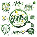 Spring2 Arkivbild
