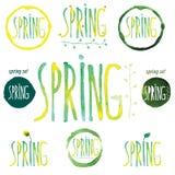 Spring3 Royaltyfria Foton