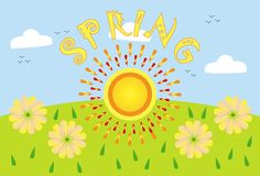 Spring.. Royalty Free Stock Photos