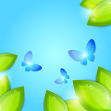 Spring abstract background Stock Images