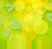 Spring. Abstract background  with decoration and boken Royalty Free Stock Photos