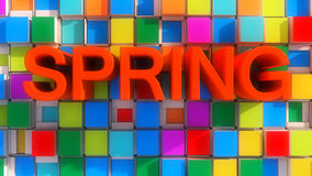 Spring Abstract Colors Royalty Free Stock Photo