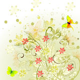 Spring abstract design Stock Images