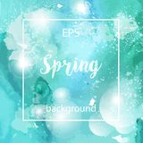 Spring abstract texture background Royalty Free Stock Photos