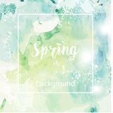 Spring abstract texture background Stock Images