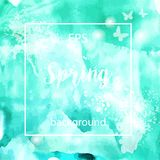Spring abstract texture background Stock Image