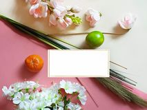 Spring Flowers Healthy lifestyle Fruits Apple Background concept still life vegan Eco food m. Spring In Air Greetings card concept Healthy Lifestyle Eco Fruits royalty free stock images