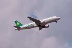 Spring Airlines plane Stock Images