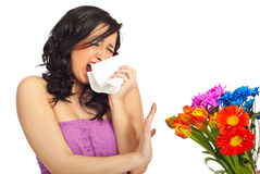Spring allergy Stock Photos