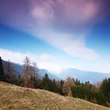 Spring alps Stock Photo
