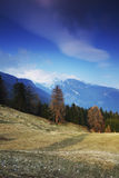 Spring alps Royalty Free Stock Photography