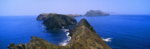 Spring at Anacapa Island, Channel Islands National Park, Ventura, California Royalty Free Stock Photo