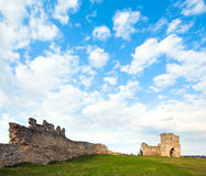 Spring ancient fortress ruins Stock Image