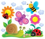 Spring animals and insect theme image 6 Stock Images