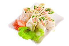 Spring appetizer Royalty Free Stock Images