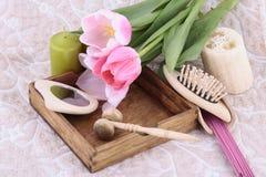 Spring aromathetapy Stock Image
