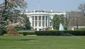 Free Spring At The White House Royalty Free Stock Photo - 656945