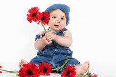 Spring Baby Royalty Free Stock Image