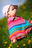 Spring Baby Stock Photography