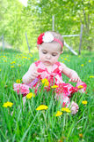 Spring baby Royalty Free Stock Images