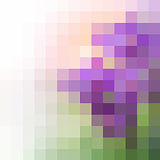 Spring background_2. Its a spring, vector mosaic. You can use for greeting someone Royalty Free Stock Photo