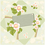 Spring background. Abstract  illustration Stock Photo
