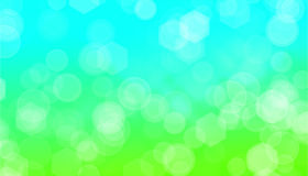 Spring background. With lights bokeh Stock Photography