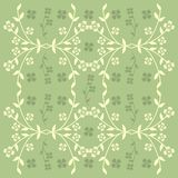 Spring background. Spring design with flowers and leaves Stock Illustration