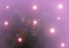 Spring Background. With lens flare effect Royalty Free Stock Photos