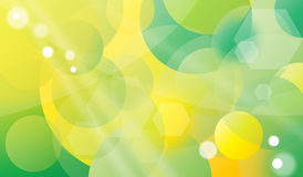 Spring background. Spring yellow - green background with sparkles Stock Photography