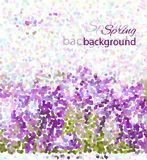 Spring background. Its a spring, vector mosaic. You can use for greeting someone Stock Photo