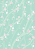 Spring Background3. Background with blooming tree, can use as pattern Royalty Free Stock Image