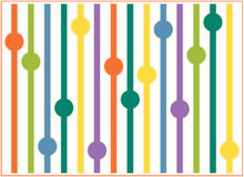 Spring background with straws balls Royalty Free Stock Photo
