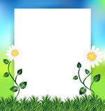 Spring background with copy space Stock Photo