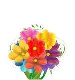 Spring background with flowers Royalty Free Stock Photos