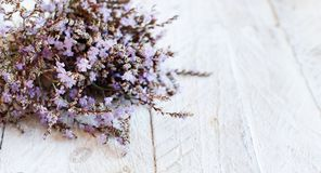 Spring background with flowers. On a wooden background close up stock photography