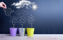 Spring background with space Royalty Free Stock Images