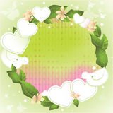Spring background for Valentine's Day Royalty Free Stock Images
